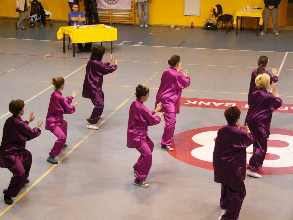 taichi  csapat verseny